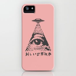 New World Order iPhone Case