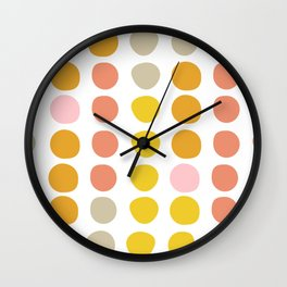 Shape and Color 36 Wall Clock