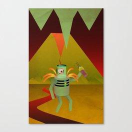 Robot Necromancer Canvas Print