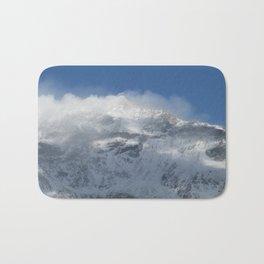Snowy Peaks Bath Mat