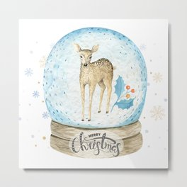 Christmas deer #2 Metal Print