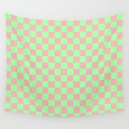 Checkered Pattern I Wall Tapestry