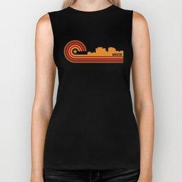 Retro Wheaton Maryland Skyline Biker Tank