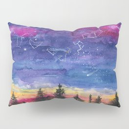 The Zodiac over Sequoia Pillow Sham