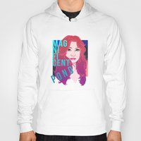 amy pond Hoodies featuring Magnificent Pond by Franc-eh