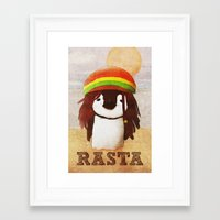 reggae Framed Art Prints featuring Reggae by cristi-scg