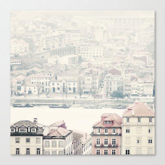 city river Canvas Print