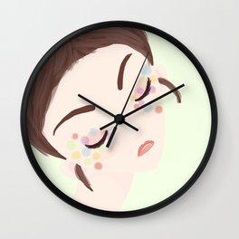 Colourful Eyes No 2 Wall Clock