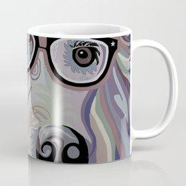 Smart Retriever Denim Tones Coffee Mug