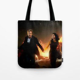 Born to Save the Universe Tote Bag