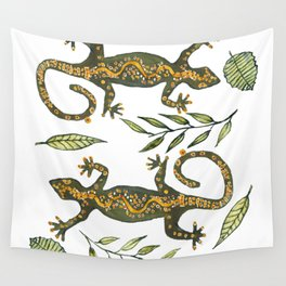 Lady Gecko Wall Tapestry