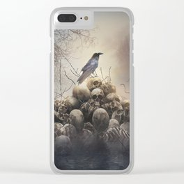 Dark Lake Clear iPhone Case