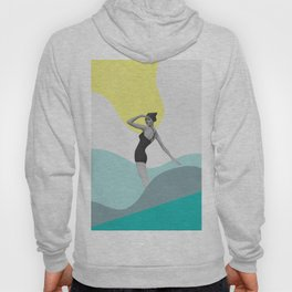 Swimmer Collage Hoody