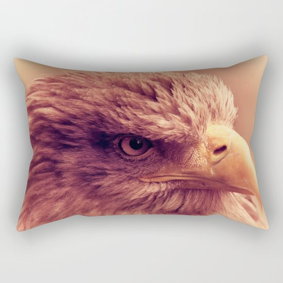 Eagle Eye Rectangular Pillow