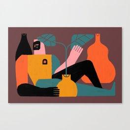 Solitud Canvas Print