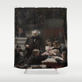 Thomas Eakins's Portrait of Dr. Samuel D. Gross (The Gross Clinic) Shower Curtain