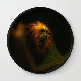 Monkey Photography Print Wall Clock
