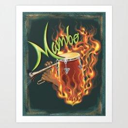 Mambo Art Print