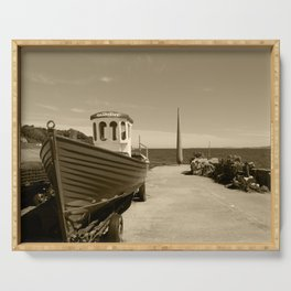 Moville Pier Donegal Tint 3 Serving Tray