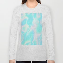 Pastel Hologram Long Sleeve T-shirt
