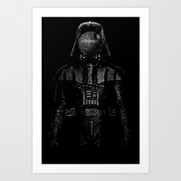 magritte Art Prints featuring Darth Magritte by Billy Allison