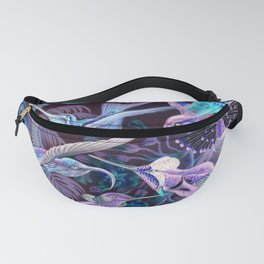 Ode to Haeckel's Hummingbirds Fanny Pack