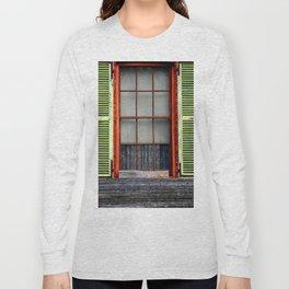 Window Shutters Long Sleeve T-shirt