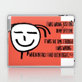 Life Philosophy (Anonymous) Wall Art01 Color Laptop & iPad Skin