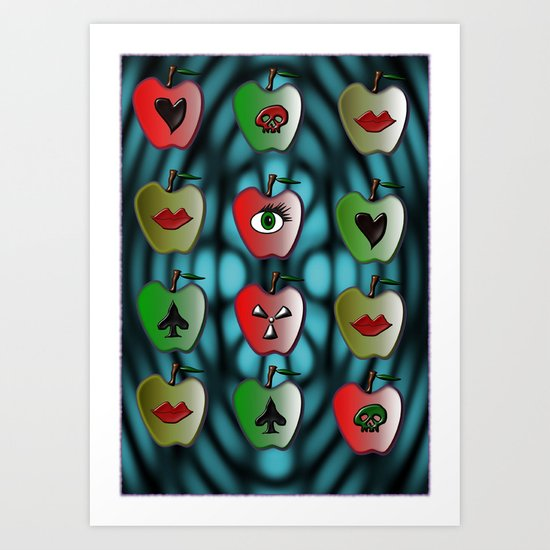 Temptations Art Print