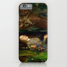 Ophelia - John Everett Millais iPhone Case
