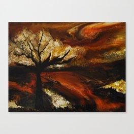 Soir d'automne Canvas Print