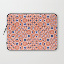 Orange Crush! A pop of orange and blue. Laptop Sleeve