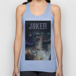 The Joker (Jared Leto) Unisex Tank Top