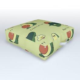 Avocado First Time Yoga Outdoor Floor Cushion