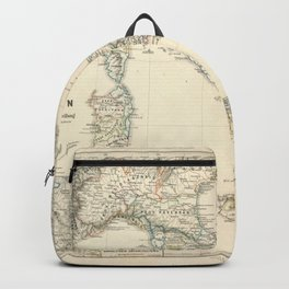 Vintage Map - Spruner-Menke Handatlas (1880) - 26 The Church in Italy, 1500 Backpack