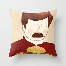 You Had Me At Meat Tornado Throw Pillow