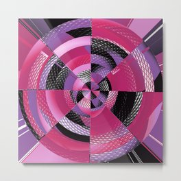 Spin the Bottle Metal Print