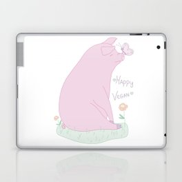 Happy Vegan! Laptop & iPad Skin