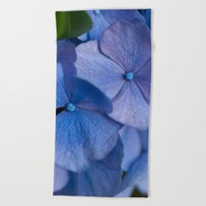 Blue Hydrangeas #2 # #art #society6 Beach Towel