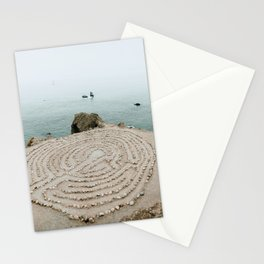 Lands End Labyrinth, San Francisco II Stationery Cards