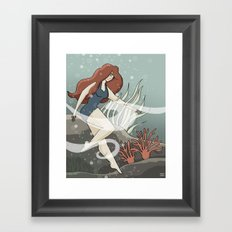 Bottom of the Sea Framed Art Print