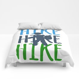 Hiking Travel Hiking Nature friend Gift Colorful Comforters
