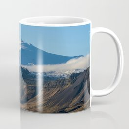 Snaefellsjokull volcano 2 Iceland Coffee Mug