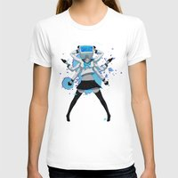 vocaloid T-shirts featuring What the hell's going on?! by Helixel