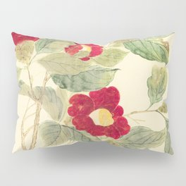 Red flowers , red flowers Pillow Sham
