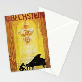 Vintage poster - C. Bechstein Stationery Cards