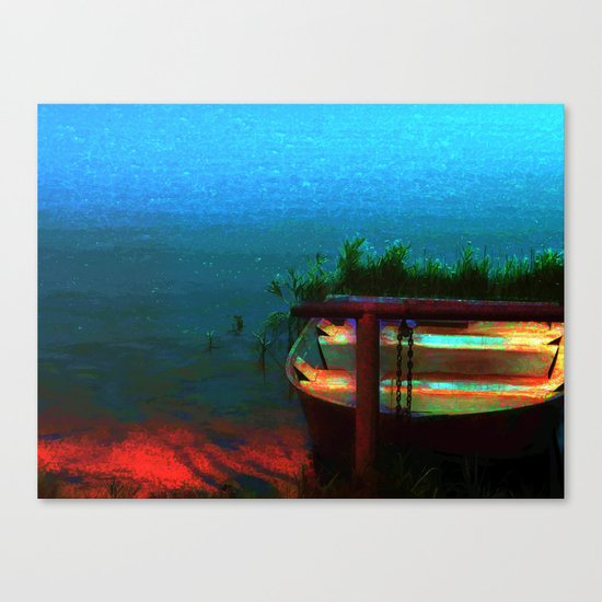 Rusty Boat Canvas Print