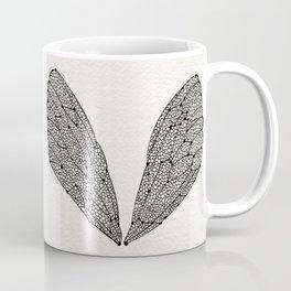 Black Cicada Wings Coffee Mug