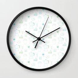 Coffee and Dessert Wall Clock