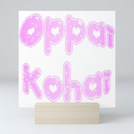 Oppai Kohai in Bubblegum Mini Art Print